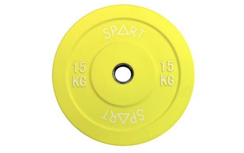 Spart Bumper Plates 15 kg