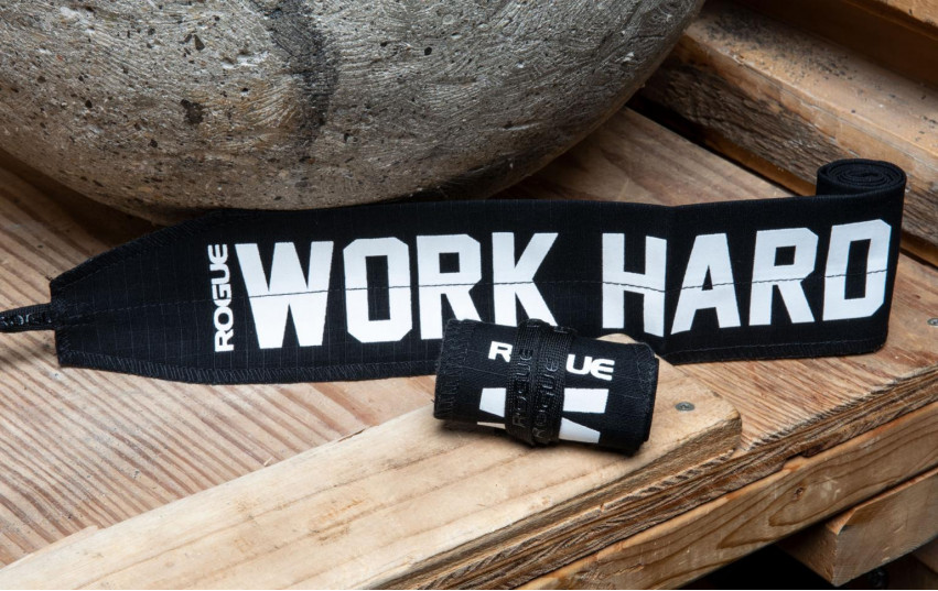 ROGUE WORK HARD WRAPS BLACK WHITE