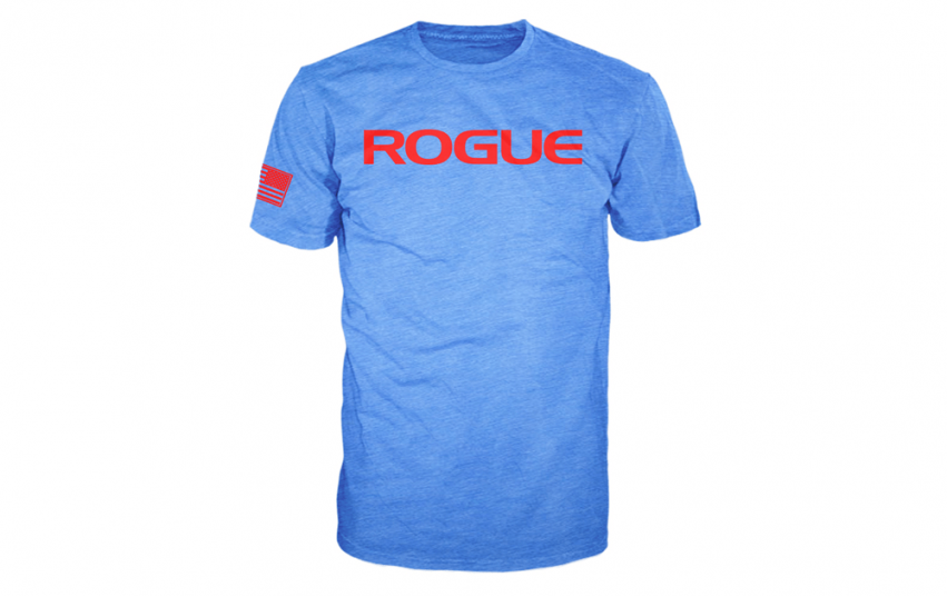 ROGUE BASIC SHIRT Blue Red