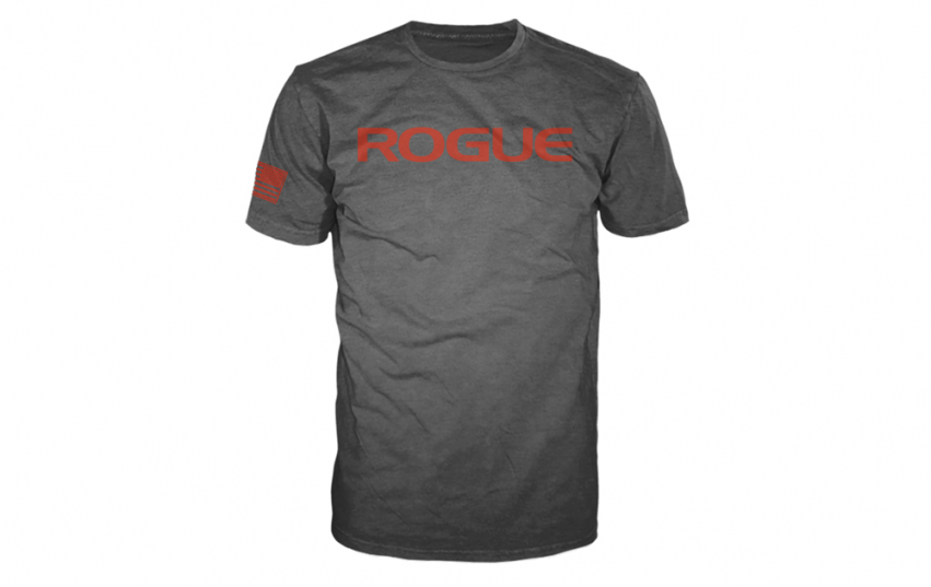 ROGUE BASIC SHIRT Grey Red