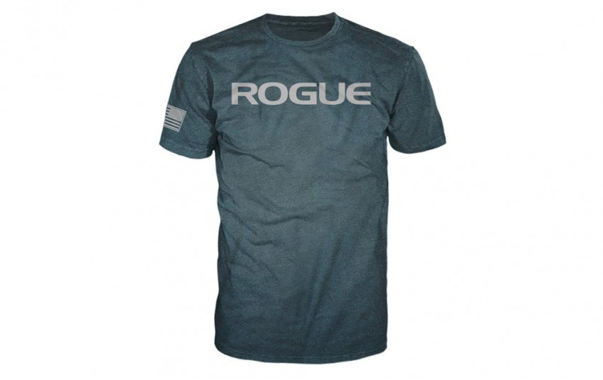 ROGUE BASIC SHIRT Aqua Silver