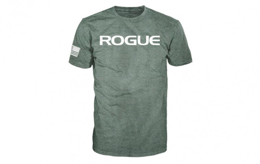 ROGUE BASIC SHIRT Green White