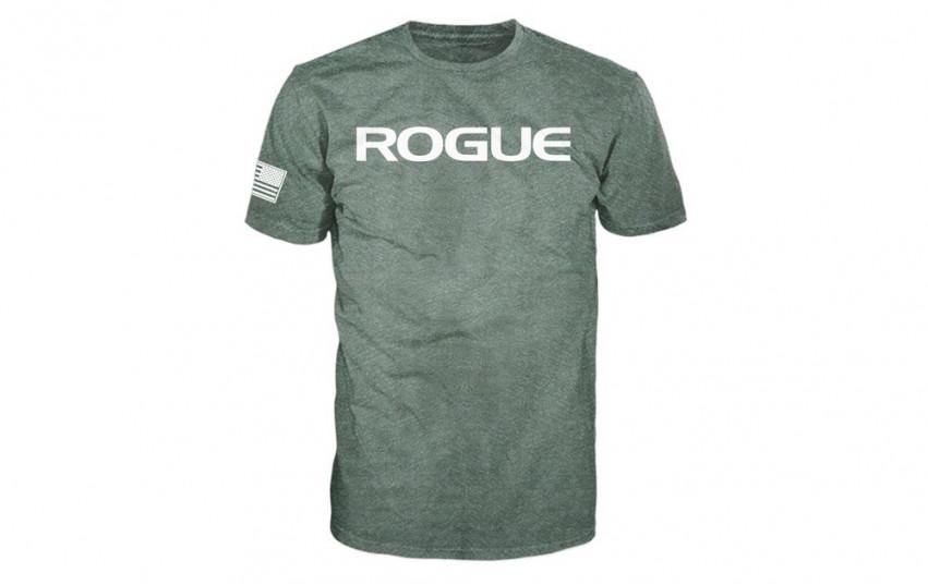 ROGUE BASIC SHIRT Green White