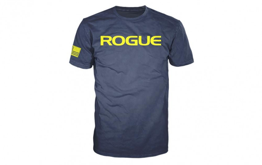 ROGUE BASIC SHIRT Navy Yellow