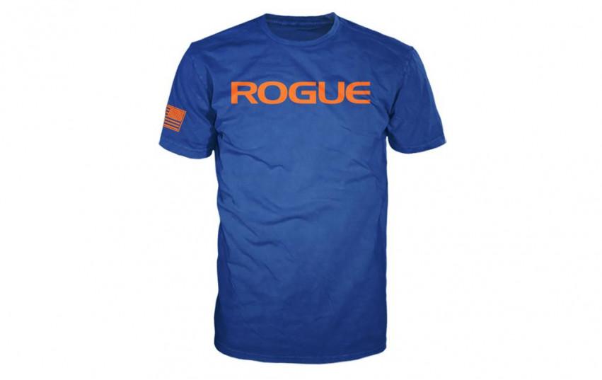 ROGUE BASIC SHIRT Blue Orange