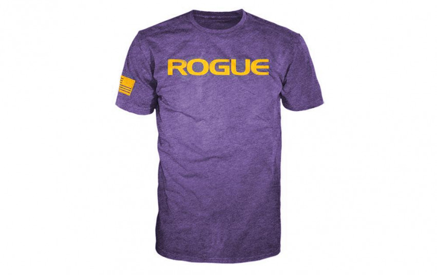 ROGUE BASIC SHIRT Purple Gold