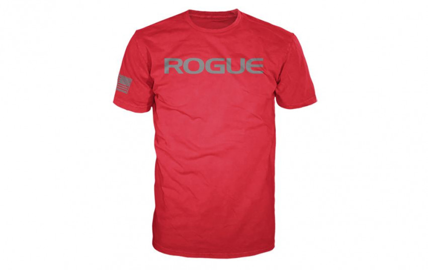 ROGUE BASIC SHIRT Red Grey