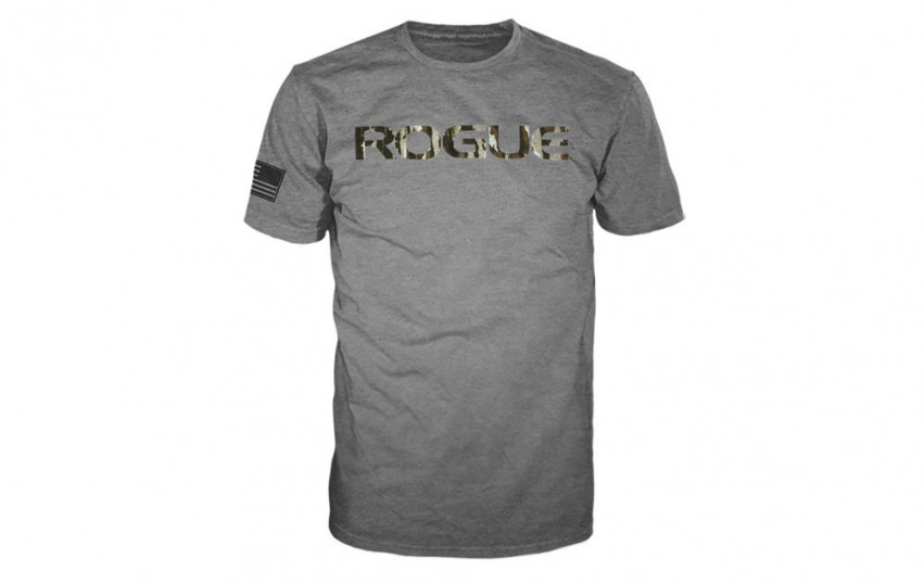 ROGUE BASIC SHIRT Grey Camo