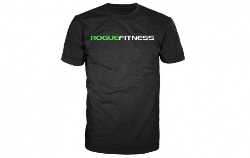 ROGUE FITNESS CLASSIC SHIRT Black-Green