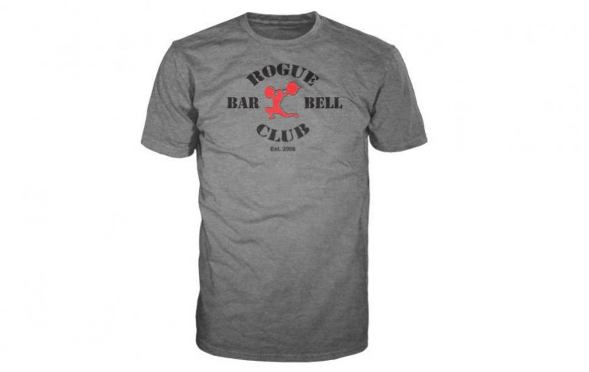 ROGUE BARBELL CLUB 2.0 SHIRT Gray