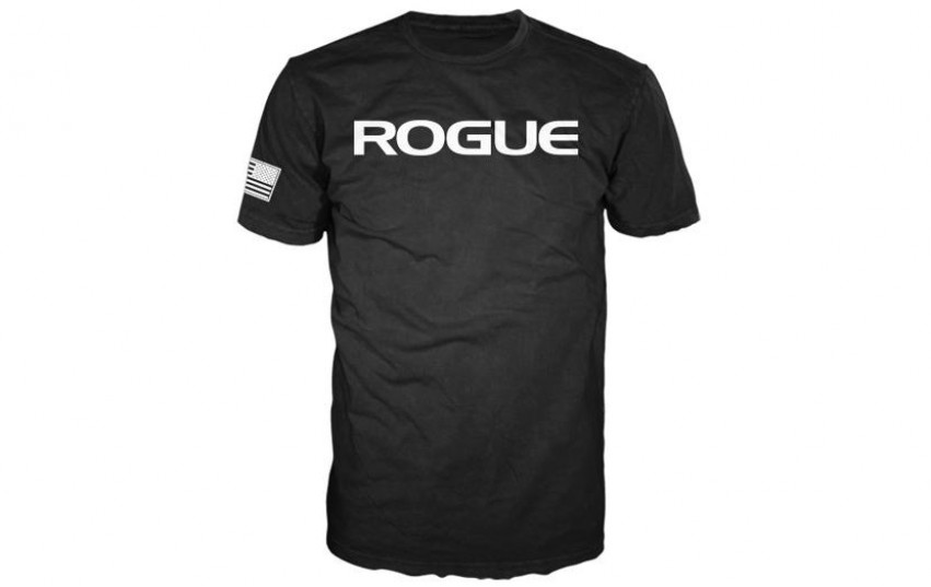 ROGUE BASIC SHIRT Black White
