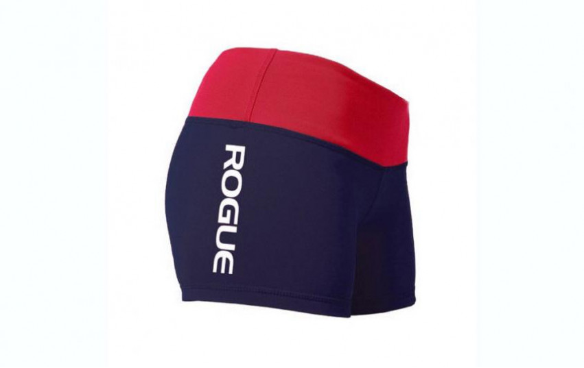 WOD GEAR CLOTHING WIDE BAND BOOTY SHORTS Dark Blue