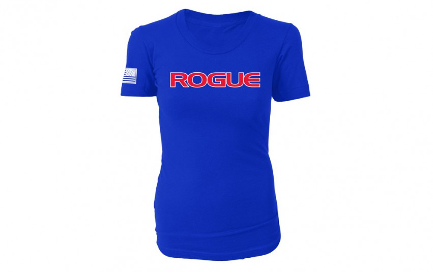 ROGUE WOMEN'S AMERICAN MADE SHIRT Blue