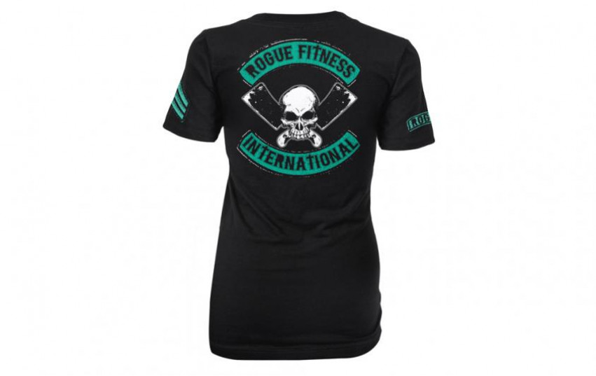 ROGUE WOMEN'S INTERNATIONAL SHIRT Black Green
