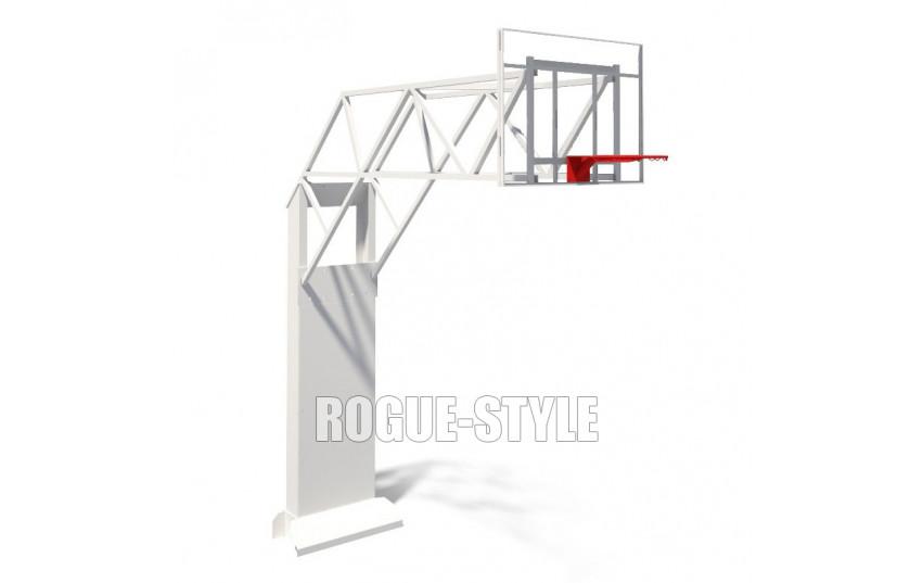 Стенд баскетбольный с выносом щита 2,8м (с щитом)