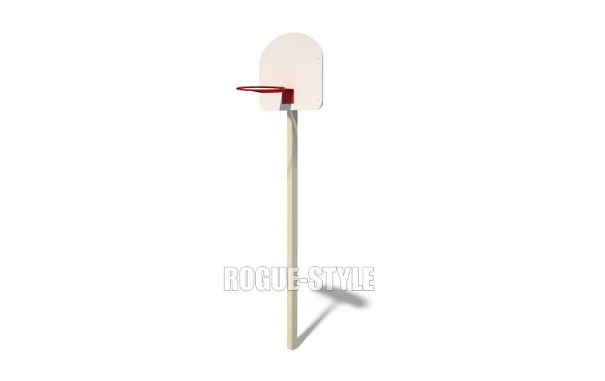 Стойка для игры в стритбол с одним щитом