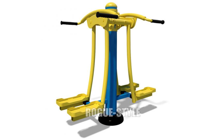 Тренажер для мышц бедра двойной