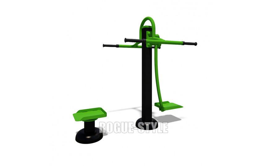 Тренажёр для ягодичных, приводящих и отводящих мышц бедра