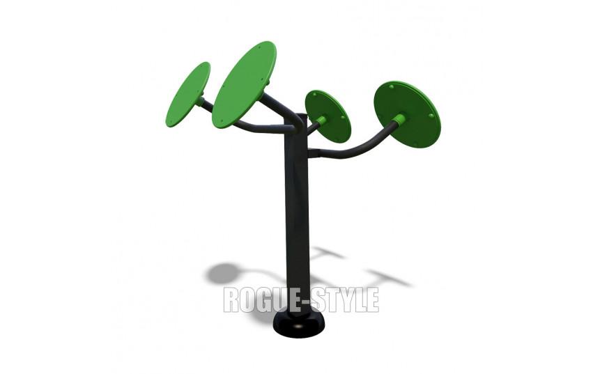 Тренажер мышц плечевого пояса двойной