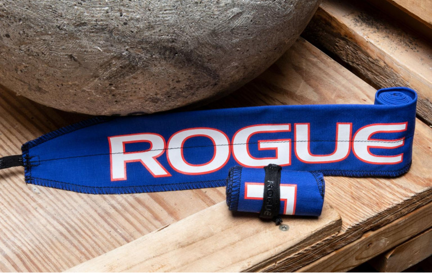 ROGUE STRENGTH WRAPS BLUE