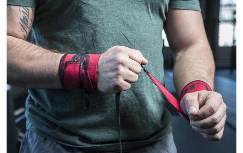 ROGUE STRENGTH WRAPS Red